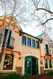 Villaggio danese in Solvang California immagine stock