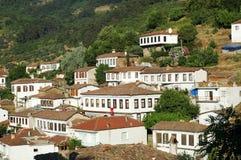 Villaggio dei cottage Immagine Stock