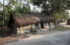 Villaggio del bengalese Fotografia Stock