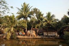 Villaggio del bengalese Immagini Stock Libere da Diritti