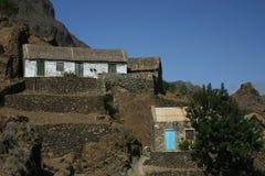 Villaggio del Capo Verde Fotografia Stock Libera da Diritti