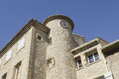 Villaggio del Chateauneuf du Pape in Provenza Fotografie Stock Libere da Diritti