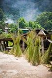 Villaggio del Chiang Mai Immagini Stock
