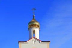 Villaggio del cosacco del punto di riferimento in Russia del sud Fotografia Stock