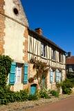 Villaggio del francese di Gerberoy Fotografia Stock Libera da Diritti