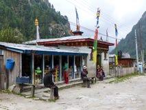 Villaggio del koto, Nepal Immagine Stock Libera da Diritti