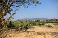Villaggio del Laos Immagine Stock Libera da Diritti