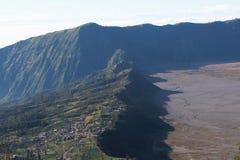 Villaggio del lawang di Cemoro al supporto Bromo immagine stock