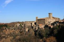 Villaggio del Lazio Fotografia Stock Libera da Diritti