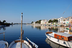 Villaggio del litorale Fotografie Stock