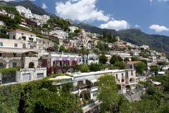 Villaggio del litorale di Amalfi Fotografia Stock Libera da Diritti