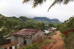 Villaggio del Madagascar Immagini Stock