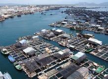 Villaggio del mare Immagini Stock Libere da Diritti
