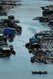 Villaggio del mare Immagini Stock
