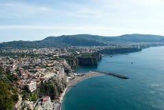 Villaggio del Meta di Sorrento, Italia immagini stock libere da diritti