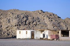 Villaggio del nomade fotografia stock libera da diritti