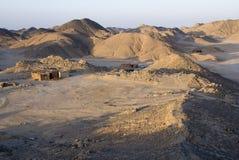 Villaggio del nomade immagine stock