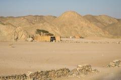 Villaggio del nomade fotografia stock