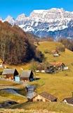 Villaggio del paese Fotografie Stock Libere da Diritti