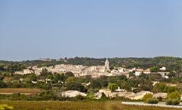 Villaggio del paese della Francia Fotografia Stock Libera da Diritti