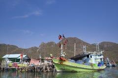 Villaggio del pescatore Immagine Stock Libera da Diritti