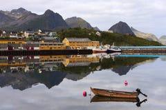 Villaggio del pescatore Fotografia Stock