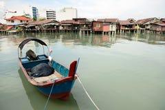 Villaggio del pescatore Immagine Stock