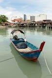 Villaggio del pescatore Immagini Stock Libere da Diritti