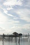 Villaggio del pescatore. fotografia stock libera da diritti