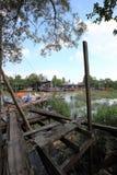 Villaggio del pesce di Sekinchan Immagini Stock