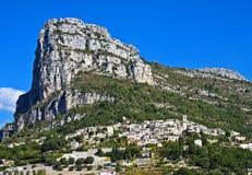 Villaggio del san-Jeannet, Francia Fotografie Stock Libere da Diritti