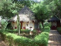 Villaggio del Senegal Fotografia Stock Libera da Diritti