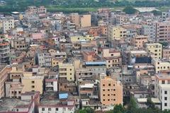 Villaggio del sobborgo della città di Canton Fotografia Stock Libera da Diritti