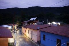 VILLAGGIO DEL SUDAMERICA VENEZUELA CHUAO immagine stock libera da diritti