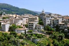 Villaggio del sur Loup di Tourrettes in Francia Fotografie Stock Libere da Diritti