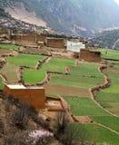 Villaggio del Tibet Fotografie Stock