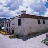 Villaggio del Tibet Immagini Stock