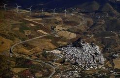 Villaggio del vento Fotografie Stock