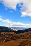 Villaggio del Yunnan Fotografia Stock