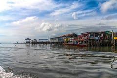 Villaggio dell'acqua, Patau-patau nessun Alba 2 Immagine Stock Libera da Diritti