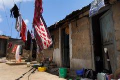 Villaggio dell'Africa immagine stock libera da diritti