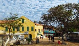 Villaggio dell'Africa fotografia stock libera da diritti