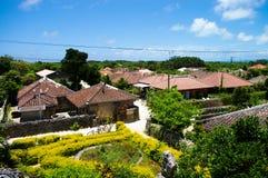 Villaggio dell'isola fotografia stock