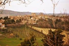 Villaggio dell'italiano della campagna Fotografie Stock