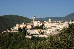 Villaggio dell'Umbria Fotografia Stock