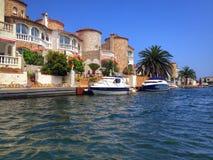 Villaggio dell'yacht Fotografia Stock Libera da Diritti