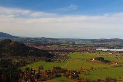 Villaggio della Baviera in Germania Fotografia Stock