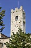 Villaggio della chiesa di Vence in Francia Fotografie Stock Libere da Diritti