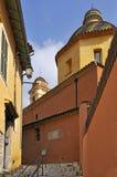 Villaggio della chiesa di Vence in Francia Fotografia Stock