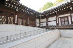 Villaggio della Corea del Sud nelle gente di Seoul Immagine Stock Libera da Diritti